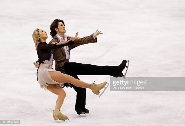 March 27 Los Angeles California United States Skaters Sinead KERR / John KERR during the Free Dance Program at the 2009 World Figure Skating...