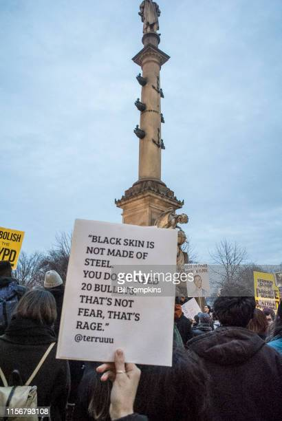 MANDATORY CREDIT Bill Tompkins/Getty Images Protest for the murder of Stephon Clark who was kiled by police officers in Sacremento California Sign...