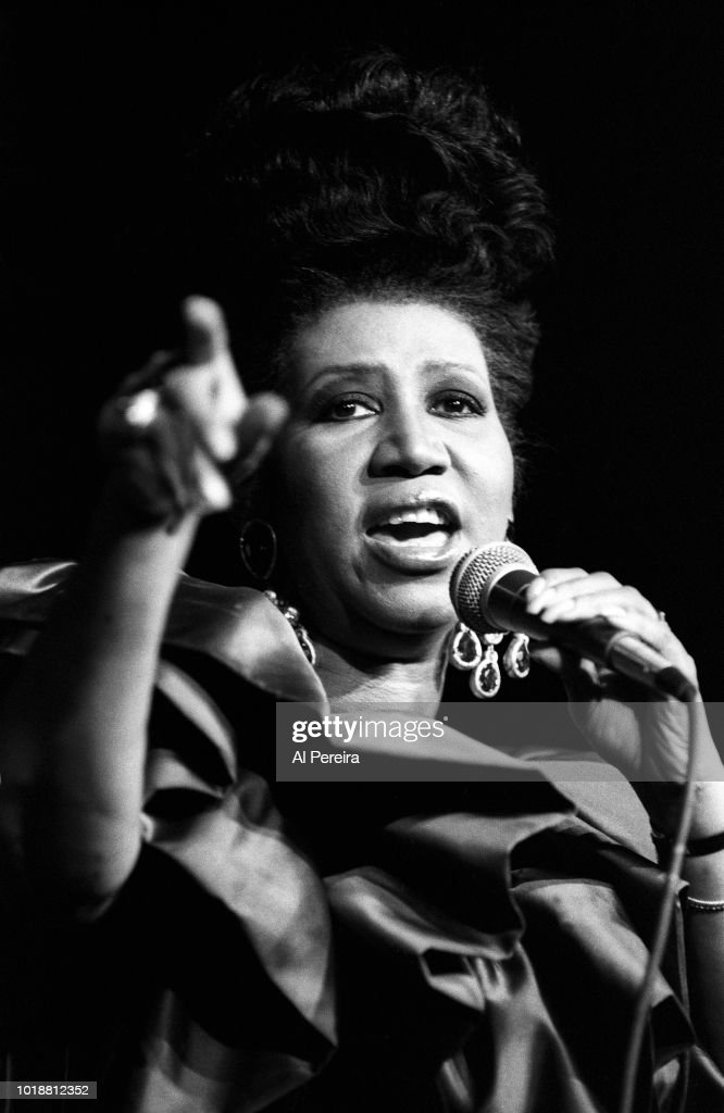 Aretha Franklin in COncert : News Photo