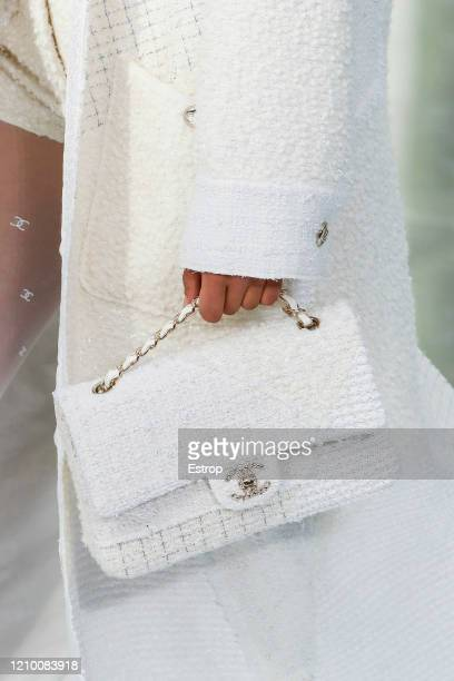 Bag detail during the Chanel as part of the Paris Fashion Week Womenswear Fall/Winter 2020/2021 on March 3 2020 in Paris France