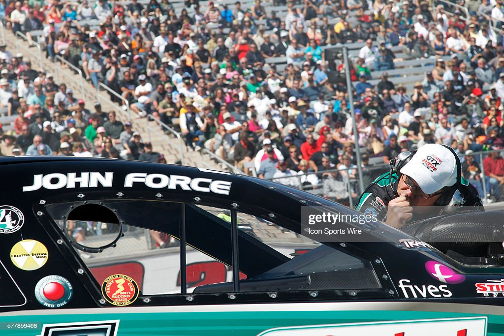 Jimmy Prock Crew Chief Of John Force Ford Mustang Nhra Funny Car