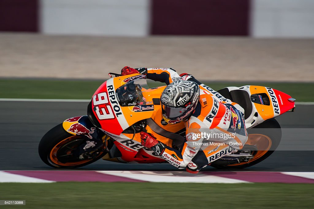 Final MotoGP Pre-season Test Held at Losail Circuit, Qatar : News Photo