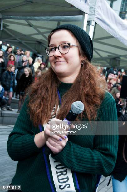March 4th 2017 Thousands of people mostly women and girls marched across Tower Bridge in an event organised by Care International to mark...