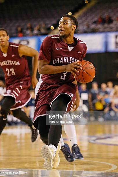 Charleston Cougars guard Payton Hulsey drives to the basket during the game between UNCW vs Charleston at Royal Farms Arena in Baltimore MD
