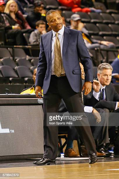 Drexel Dragons head coach James Flint during the game between Hofstra vs Drexel at Royal Farms Arena in Baltimore MD