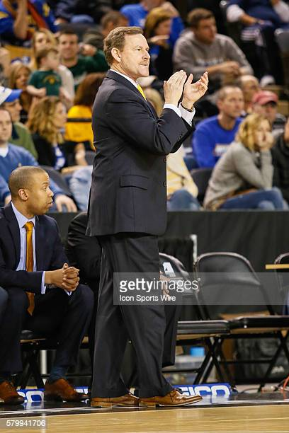 William Mary Tribe head coach Tony Shaver during the game between James Madison vs William Mary at Royal Farms Arena in Baltimore MD