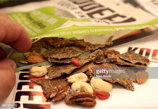 March 6 2015 With a blend of beef jerky dried fruit nuts and seeds Kooee Super Snacks claim to be 'The natural high protein snack' that is gluten soy...