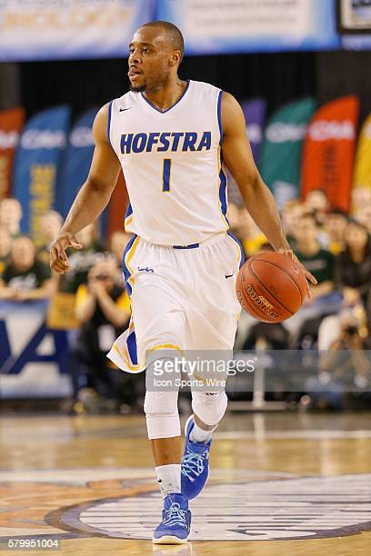 Hofstra Pride guard Juan'ya Green in action during the game between Hofstra vs William Mary at Royal Farms Arena in Baltimore MD