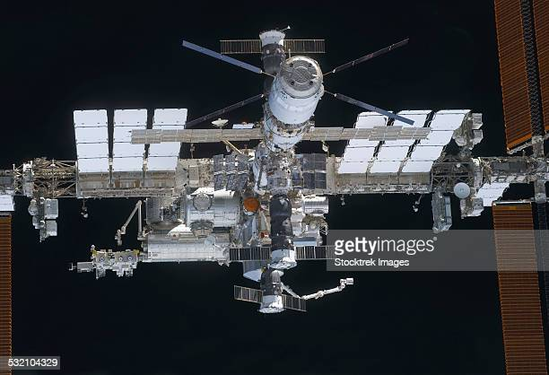 March 7, 2011 - A close-up view of the International Space Station.
