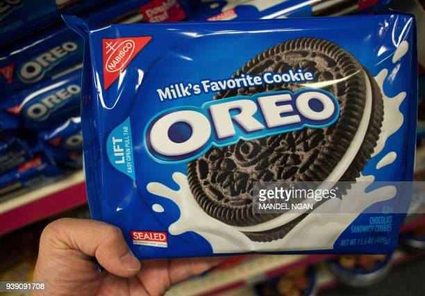 March 7 2012 photo shows a package of Oreo cookies in Washington DC Technically they're chocolate sandwich cookies a baked concoction of sugar...