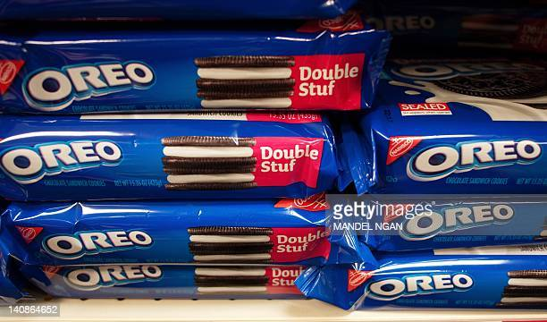 March 7 2012 photo shows packages of Oreo cookies in Washington DC Technically they're chocolate sandwich cookies a baked concoction of sugar...