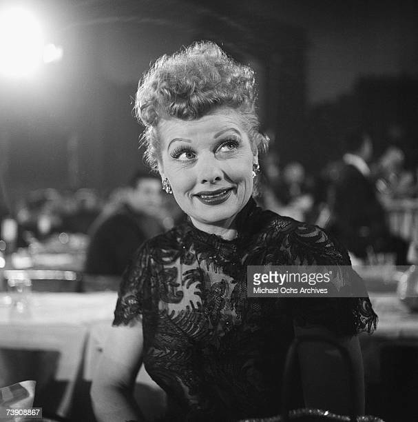 March 7 California Hollywood The Moulin Rouge Nightclub Lucille Ball at TVs Emmy Awards