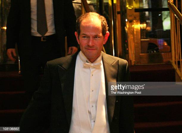 March 8 2008 CREDIT Susan Biddle / TWP Washington DC EDITOR Gridiron dinner guests arriving at Renaissance Hotel NY Gov Eliot Spitzer arrives at...