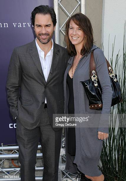 March 8 2009 West Hollywood Ca Eric McCormack and wife Janet Holden John Varvatos 7th Annual Stuart House Benefit Held at the John Varvatos Boutique