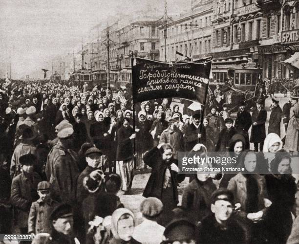 March 8th the Bourgeois Democratic Revolution was the first of the two revolutions in Russia in 1917 It was centered on Petrograd that was the...