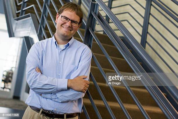 STATES March 9 Tom Jensen Director of Public Policy Polling poses for a portrait in his office in Raleigh NC Wednesday March 09 2016