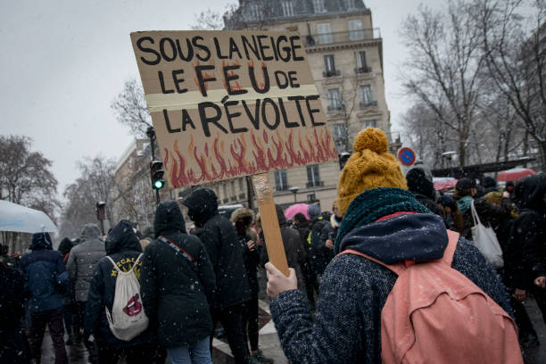 FRA: March For Freedom In Paris