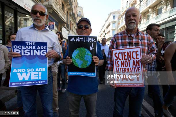 A march for Science took place in Toulouse France on 22 April 2017 for Earth's Day As Trump promotes alternative facts and deny climate change as...