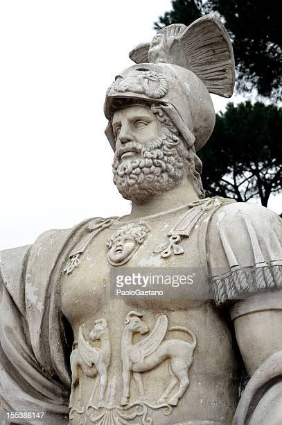 mars - mars roman god stock photos and pictures