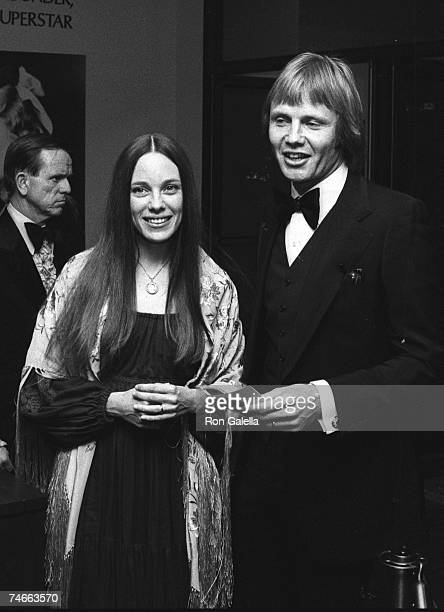 Marcheline Bertrand and Jon Voight at the Beverly Wilshire Hotel in Los Angeles California