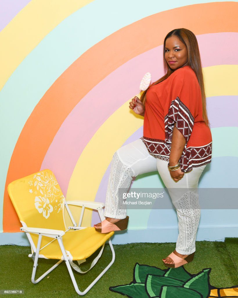 Marchel'le Hayes @thecurvyslayer #xeharcury Xehar Launches #AConfidentYou Curvy Line Competition on June 3, 2017 in Los Angeles, California. Winner gets their own fashion line!