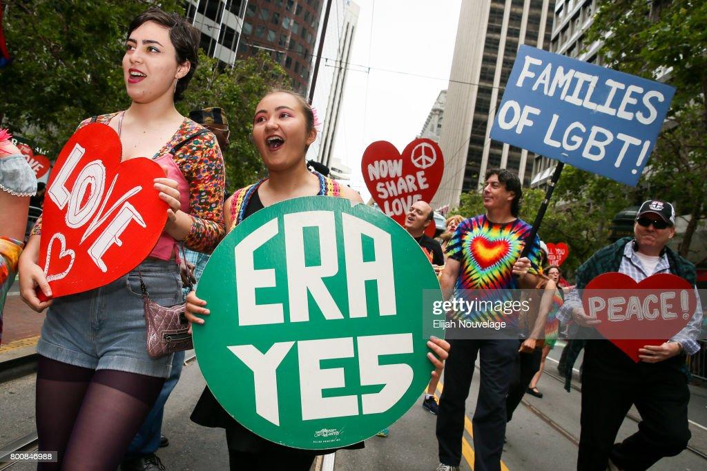 San Francisco Hosts Annual Its Gay Pride Parade : News Photo