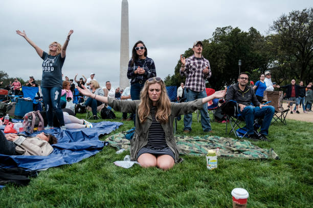 DC: Franklin Graham Leads Prayer March On National Mall In Washington DC