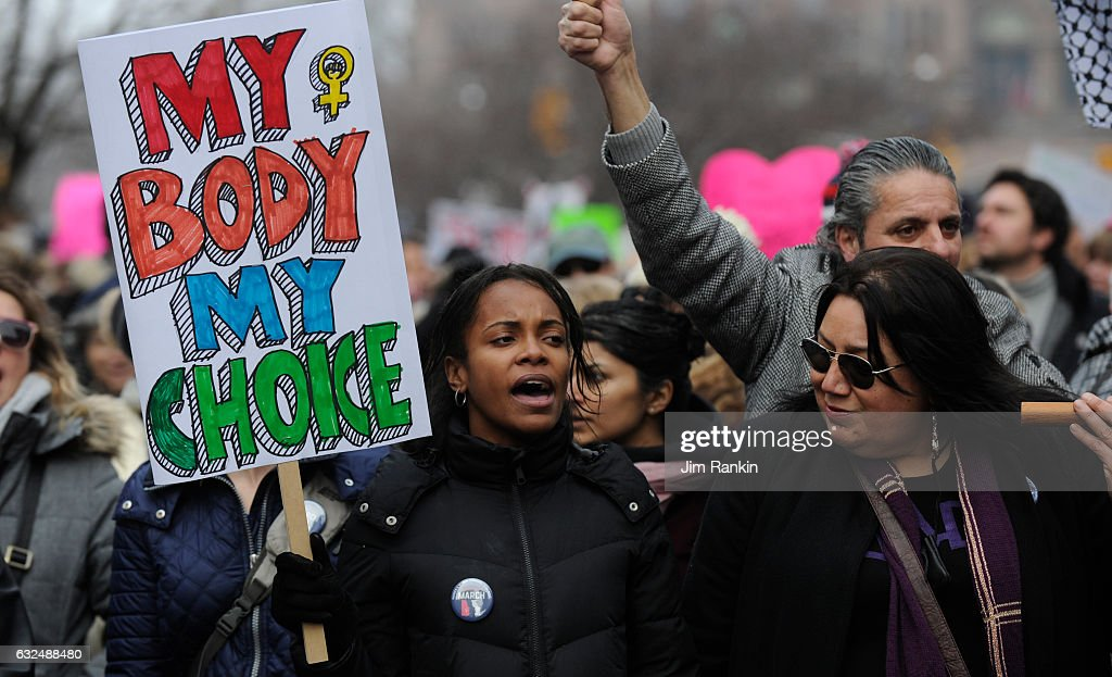 Toronto Women's March : News Photo