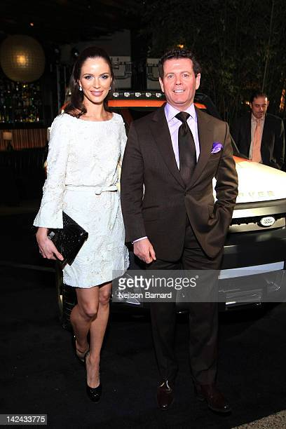 Marchesa CoFounder Georgina Chapman and Gerry McGovern Design Director Land Rover were on hand at the 25th Anniversary event for Land Rover in the US...