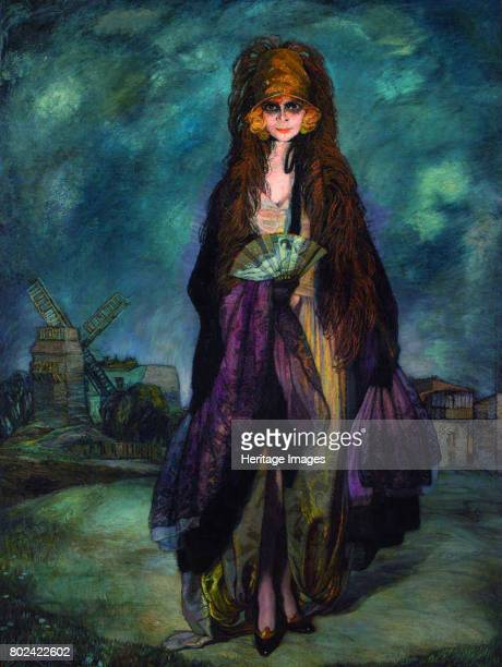 Marchesa Luisa Casati 1923 Found in the collection of Espacio Cultural Ignacio Zuloaga
