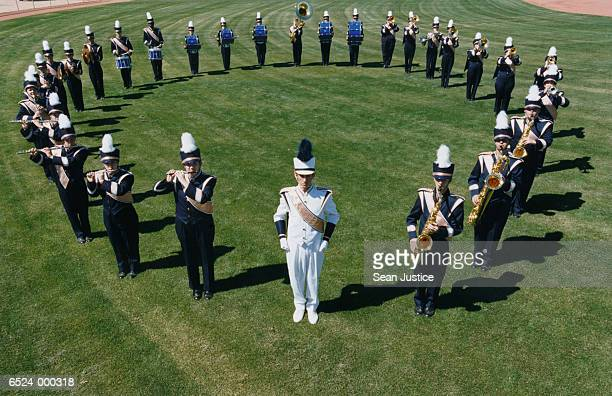 Marching Band in Circle