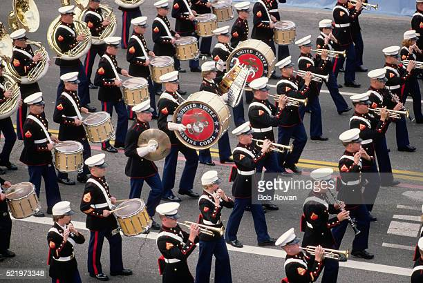 Marching Band in Tournament of Roses Parade
