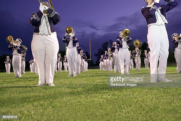 marching band - marching band stock pictures, royalty-free photos & images