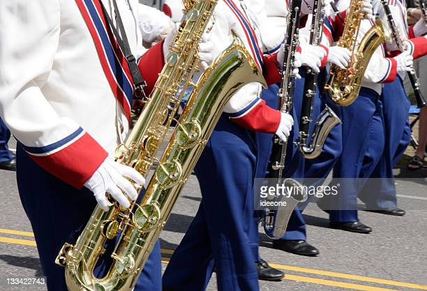 Marching sax