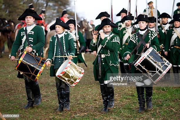 Soldados a marchar regimentals histórico