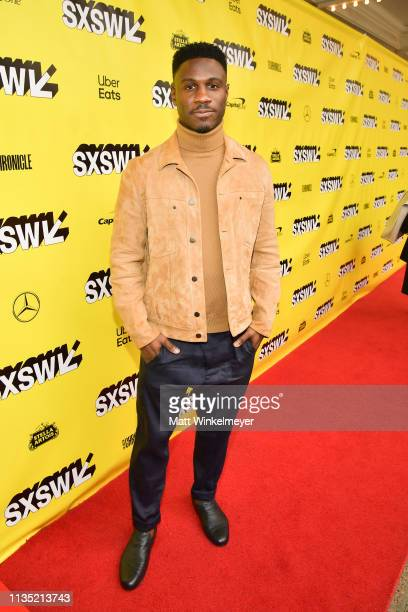 Marchánt Davis attends the The Day Shall Come Premiere 2019 SXSW Conference and Festivals at Paramount Theatre on March 11 2019 in Austin Texas