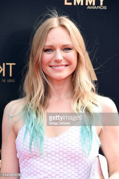 Marci Miller attends the 46th annual Daytime Emmy Awards at Pasadena Civic Center on May 05 2019 in Pasadena California