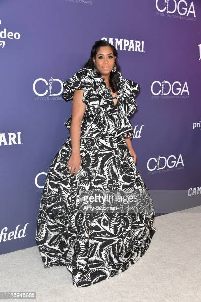 Marci Rodgers attends The 21st CDGA at The Beverly Hilton Hotel on February 19 2019 in Beverly Hills California