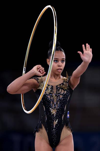 JPN: Gymnastics - Rhythmic - Olympics: Day 14