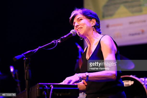Marcia Ball of Freda and the Firedogs performs onstage at the Doug Sahm Tribute during the 2015 SXSW Music Film Interactive Festival at The Paramount...