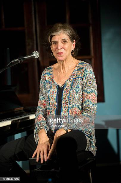 Marcia Ball performs on stage at Casa Golferichs on November 24 2016 in Barcelona Spain