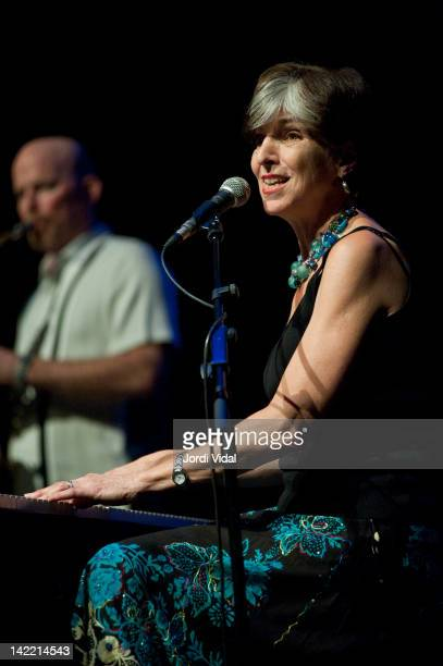 Marcia Ball performs on stage during Blues i Ritmes Festival at Teatre Zorrilla on March 31 2012 in Badalona Spain