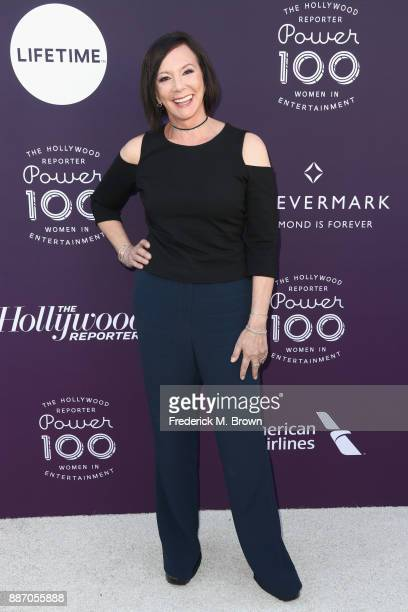 Marcia Clark attends The Hollywood Reporter's 2017 Women In Entertainment Breakfast at Milk Studios on December 6 2017 in Los Angeles California