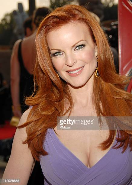 Marcia Cross 10618_km0528JPG during TNT Broadcasts 12th Annual Screen Actors Guild Awards Red Carpet at Shrine Expo Hall in Los Angeles California...