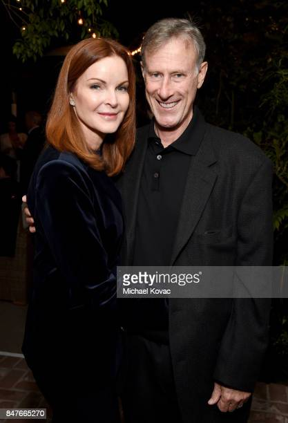 Marcia Cross and Tom Mahoney attend the 2017 Gersh Emmy Party presented by Tequila Don Julio 1942 on September 15 2017 in Los Angeles California