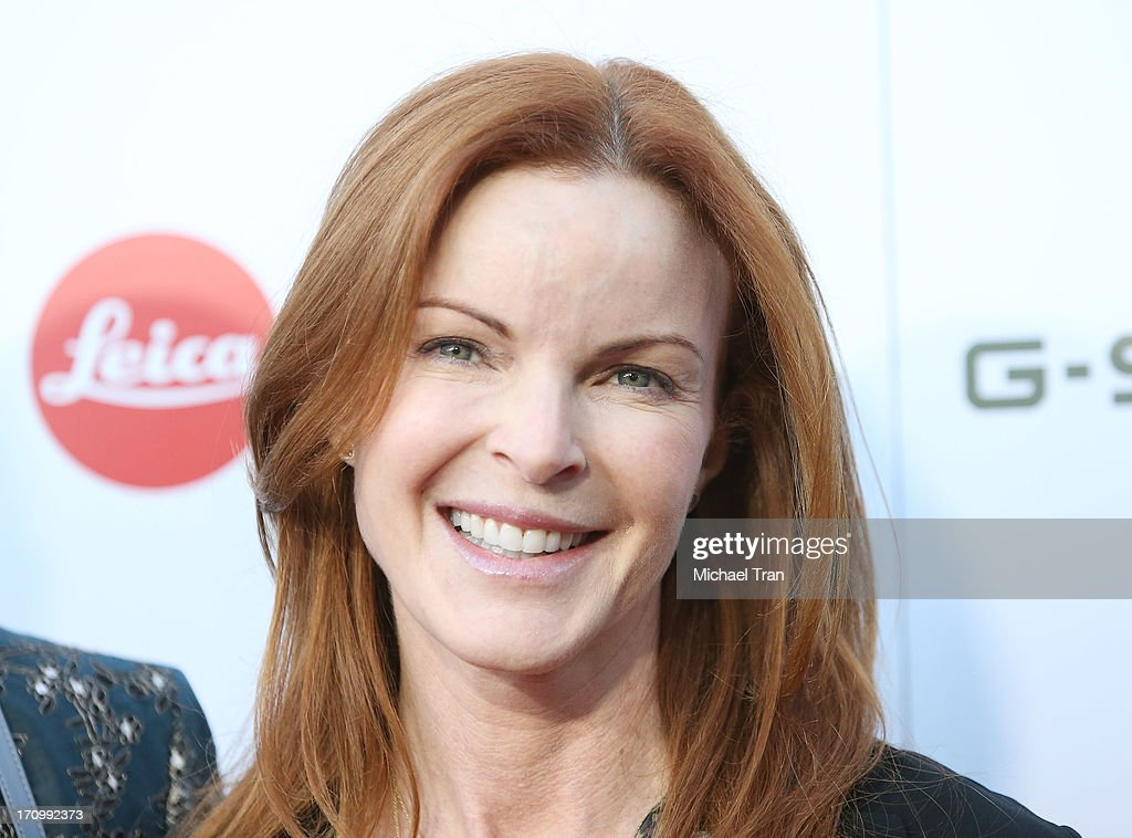Marcia Cross arrives at the grand opening of the Leica Store Los Angeles held on June 20, 2013 in Los Angeles, California.