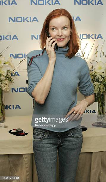 Marcia Cross at Nokia during Luxury Lounge at the Peninsula Hotel Day 1 at Peninsula Hotel in Beverly Hills California United States