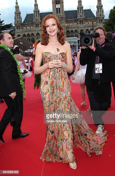 Marcia Cross attends the Life Ball 2014 at City Hall on May 31 2014 in Vienna Austria