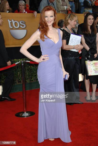 Marcia Cross during 12th Annual Screen Actors Guild Awards Arrivals at Shrine Auditorium in Los Angeles CA United States