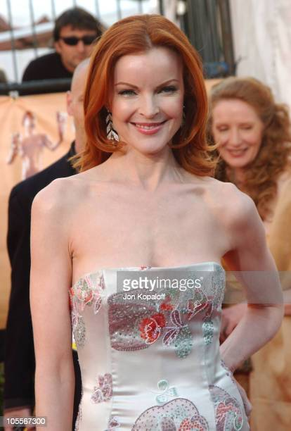 Marcia Cross during 2005 Screen Actors Guild Awards Arrivals at The Shrine in Los Angeles California United States
